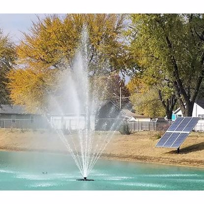 OWS Solar Floating Fountains